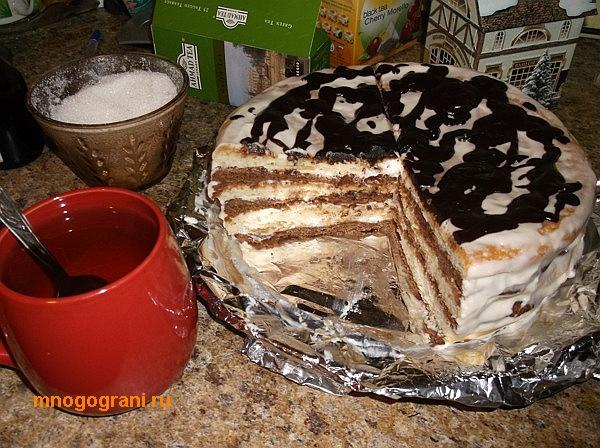 Торт мишутка рецепт с фото пошагово